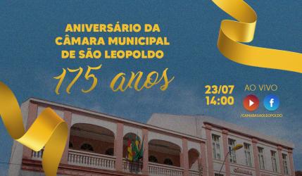 Câmara promove atividade em comemoração aos 175 anos da Casa na próxima sexta-feira