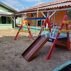 Após muitos reparos, escola vistoriada por vereador Falcão retoma atividades presenciais