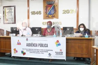 Atendimento à população com Transtorno Espectro Autista é tema de Audiência Pública