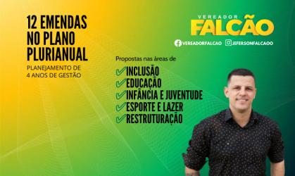 Falcão propõe 12 emendas para investimentos em Inclusão, Educação, Infância e Juventude e Esportes