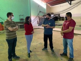 Reforma do ginásio do Parque do Trabalhador inicia em setembro