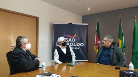 Vereador Lemos e deputado federal Nereu Crispim: recursos para a cidade