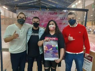 Vereador Falcão prestigia evento da Liga Leopoldense Feminina de Futebol Amador