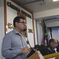 Vereador Dr. Carlos Szulcsewski anuncia trabalho pela implementação da Delegacia da Mulher em São Leopoldo
