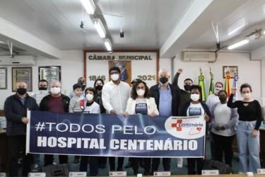 Comitê Popular em Defesa do Hospital Centenário é reativado na Câmara de São Leopoldo