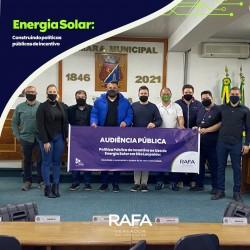Audiência Pública busca o incentivo ao uso de Energia Solar
