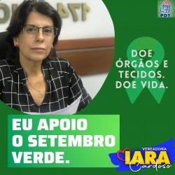 Setembro Verde  #Doe órgãos, salve vidas