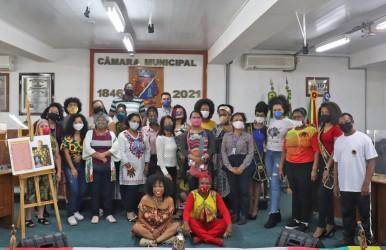 Evento celebra o Dia da Dança Afro Brasileira na Câmara de Vereadores