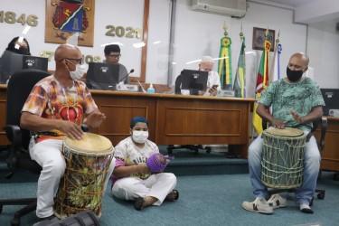 PL que institui Dia Municipal do Tamboreiro é tema de Audiência Pública na Câmara de São Leopoldo