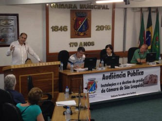 Audiência Pública sobre Castelinho