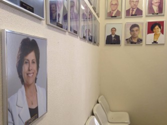 Iara Cardoso novamente na galeria de ex-presidentes da Câmara