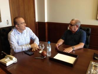 Vereador Júlio Galperim busca apoio do Governo Federal para São Leopoldo