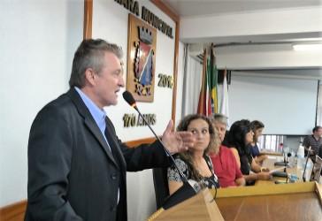 Ary Vanazzi faz alerta sobre a grave situação financeira de São Leopoldo na abertura do ano legislativo na Câmara dos Vereadores