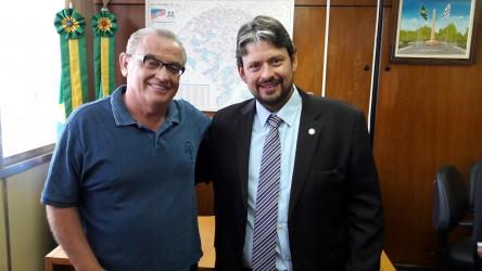 Júlio Galperim e Deputado Edu Oliveira