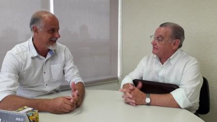 Júlio Galperim busca o diálogo e a boa relação com secretários municipais