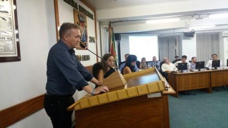 Fabiano Haubert cobra mais segurança para o município