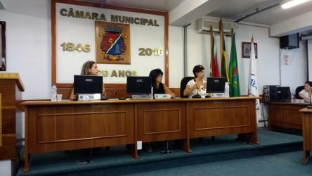Iara Cardoso compõe Mesa Diretora e participa de atividades do Mês da Mulher