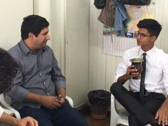 Reunião com secretário da Integração Social