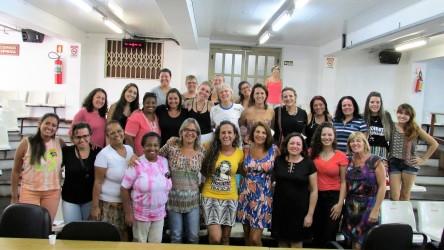 Ana Affonso ressalta a importância da participação das mulheres   nas atividades do 8 de março