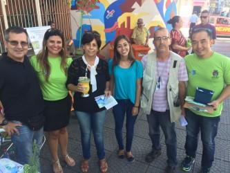Iara Cardoso participa das atividades do dia do consumidor