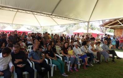 Ana Affonso participa do aniversário de dez anos no Parque Imperatriz