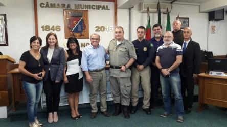 Autoridades da segurança debatem ações em audiência proposta por Galperim