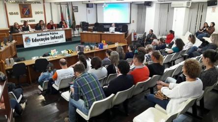 Audiência Pública sobre Educação Infantil, proposta pela vereadora Ana Affonso, lotou plenário da Câmara