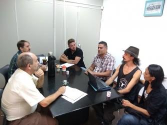Dudu Moraes busca apoio para projeto de escola circense em São Leopoldo