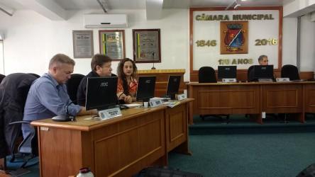 Vereadores participam da gravação do programa Câmara em Foco