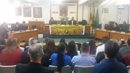 Ary Moura participa de homenagem a Igreja Evangélica