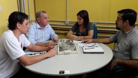 Galperim busca apoio da Secretaria da Cultura para evento em prol de pessoas carentes