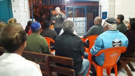 Júlio Galperim presta contas aos moradores do Rio dos Sinos