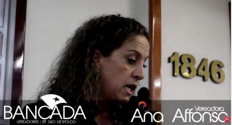 Ana Affonso ressalta importância da primeira Conferência Municipal da Saúde da Mulher, que acontece no sábado (20-5)