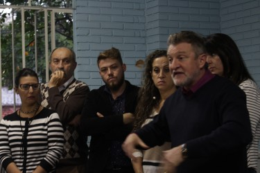 Vereadores Ana Affonso e Dudu Moraes apoiam reinício das obras na Escola Irmão Weibert