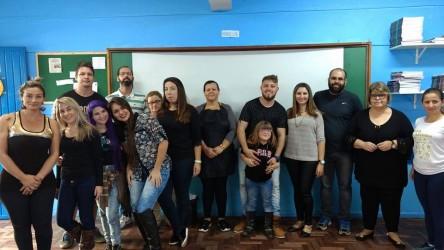 Dudu Moraes participou da II Festa da Família na Escola Alvinho