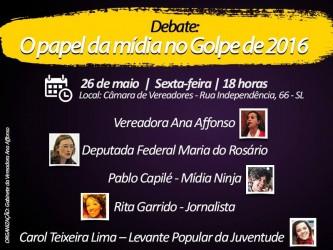 Mandato da vereadora Ana Affonso promove debate sobre