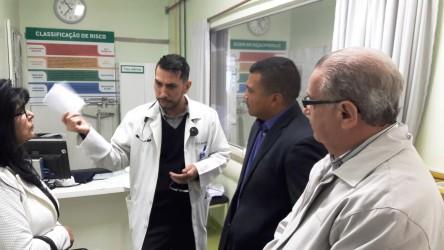 30/05 - Visita ao Hospital Centenário
