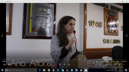 Ana Affonso afirma que educação voltada aos direitos humanos é uma forma de combater o fascismo na sociedade