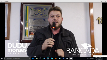 Dudu Moraes afirma que a hipocrisia está tomando conta da Câmara Municipal de São Leopoldo