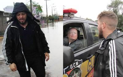 Vereador Dudu Moraes acompanha a situação das chuvas e trabalho da prefeitura em São Leopoldo