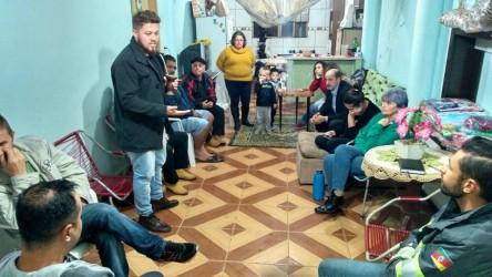Dudu Moraes realiza reunião com moradores do loteamento Santo Antônio e diretor do Semae
