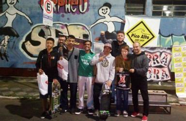 Vereador Dudu Moraes participa do 1º Skate Plaza e Hip Hop para Todos em São Leopoldo