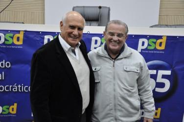 Júlio Galperim participa de encontro regional do PSD