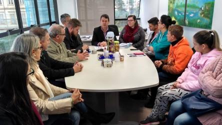 Vereador Dudu Moraes participa de reunião na Secretaria de Habitação com famílias da Cerâmica Anita