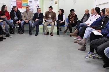 Vereadores do PT acompanham prefeito Vanazzi e secretário de Saúde em visita à USB Cohab Feitoria