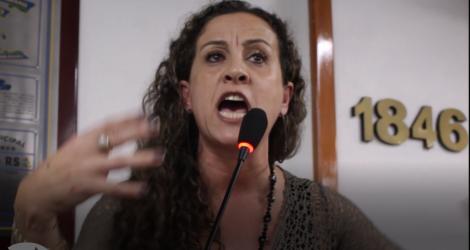 Vereadora Ana Affonso ressalta o posicionamento das cinco senadoras que ocuparam a mesa, durante a votação da reforma trabalhista
