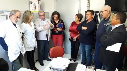 Galperim participa de encontro para solucionar impasse entre Fundação Hospital Centenário e Clínica de Hemodiálise