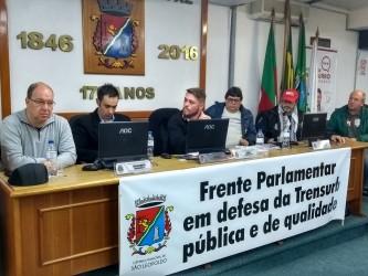 Audiência pública contra a privatização da Trensurb, proposta por Dudu Moraes, mobiliza dezenas de trabalhadores e sindicatos