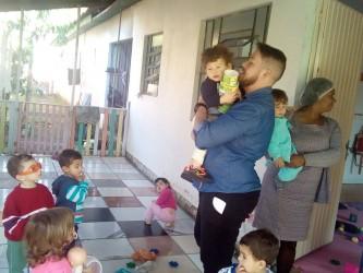 Vereador Dudu Moraes visita Escola Ursinhos Carinhosos, no Bairro Feitoria