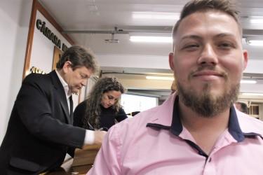 Dudu Moraes afirma ter orgulho de ser suplente de vereador e  que procura honrar cada voto recebido da população de São Leopoldo
